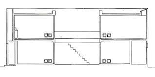 Row House In Sumiyoshi - idesign architecture azuma house tadao ando