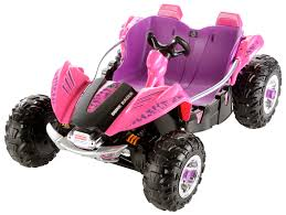 power wheels dune racer 12 volt battery powered ride on pink