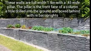 Recon Walls by Retaining Wall Construction Stone Wall Formliners On Trade Me