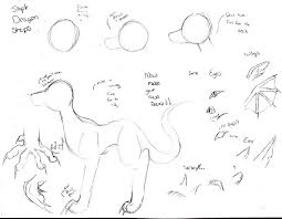 how to draw a dragon simp step by gothwolfgurl13 on deviantart