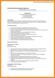 Dental Assistant Resume Sample Cover Letter For Dental Assistant 7 Dental Assistant Cover