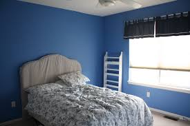 blue and gray bedroom with ceiling fan imanada astonishing light