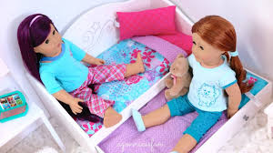 american doll beds u0026 bedding sets youtube