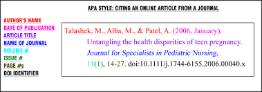 how to cite online article in apa format resume acierta us