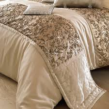 kylie minogue alexa bed runner in gold free uk delivery terrys