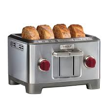 sur la table toaster wolf gourmet 4 slice toaster toasters gourmet and wolf