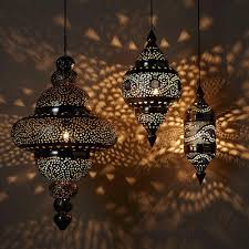 moroccan style table lamps hanging lamp collection bright copper