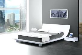 Low To The Ground Bed Frame White Low Bed Frame Best Contemporary King Size Bed White Metal