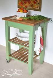 kitchen butcher block island ikea ikea bekvam cart makeover with farmhouse charm butcher block