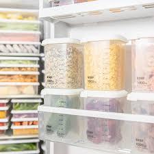 boites cuisine boîtes en plastique scellées boîte de rangement pour la cuisine la
