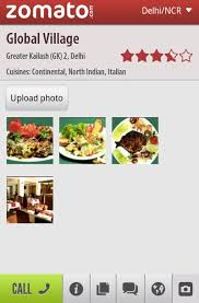 application cuisine android zomato launches local food guide android application