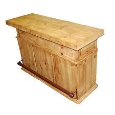 Rustic Bars Shop Million Dollar Rustic 66 In X 42 In Pine Rectangle Standard