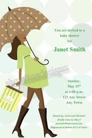 printable american modern baby shower invitation