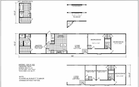 Home Floor Plan by Champion Homes Single Wide Floor Plans