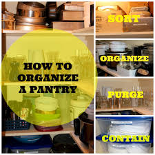 Organize Pantry How To Organize Your Pantry New House New Home