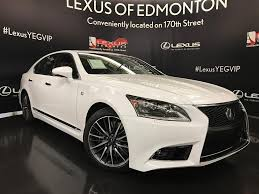 lexus ls 460 lowered new lexus ls 460 in edmonton lexus of edmonton