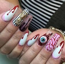 best 25 halloween acrylic nails ideas only on pinterest