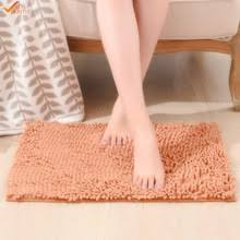 Bathroom Rugs With Non Skid Backing Microfiber Chenille Bath Mat Promotion Shop For Promotional