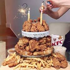 kfc cake mmm kutlača kfc cake and food