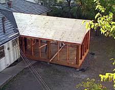 Building A Porch Roof Porch Roof Framing hometime how to porches framing