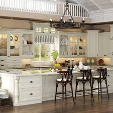 Kitchen Cabinet Units Latest European Style Solid Wood Apartment Kitchen Cabinet Units