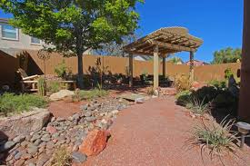 comfy backyard desert landscape design ideas for landscaping