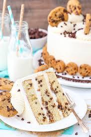 vanilla chocolate chip cake recipe from scratch best cake 2017