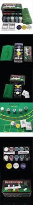 card game table cloth 200 baccarat chips bargaining poker chips set blackjack table cloth