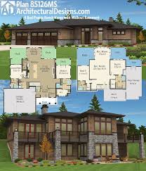 Walkout Basement Floor Plans Ranch 59 Best Homes For The Sloping Lot Images On Pinterest House