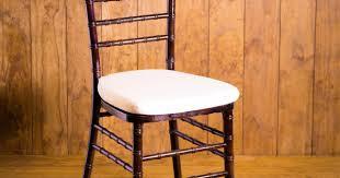 Chiavari Chairs Rental Houston Fruitwood Chiavari Chair With Pad Rental U2013 Houston Peerless Events