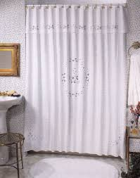 White Lace Shower Curtain by Martha Stewart Battenburg Lace Curtains Best Curtains Home