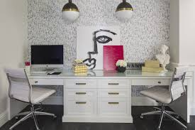 White Desks For Home Office Two Person Desk Design Ideas For Your Home Office Desks