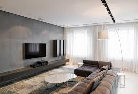 Minimalist Interior Design In Moscow Russia Architectural - Modern minimal interior design