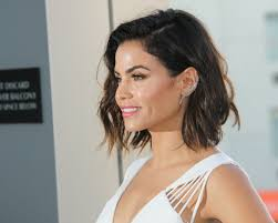 whats a lob hair cut jenna dewan tatum sleek lob haircut 2016 stylecaster