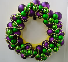 mardi gras bead wreath make a mardi gras wreath celebrate decorate