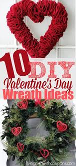 s day wreaths top 10 adorable do it yourself valentines day wreaths wreaths