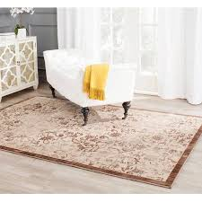 Infinity Area Rugs Safavieh Infinity Daithi Power Loomed Area Rug Yellow Brown