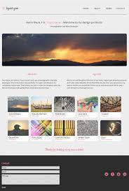 free responsive html templates responsive psd web templates 25 free templates psd files