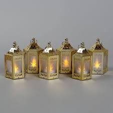 lights com flameless candles lanterns anthea gold mini