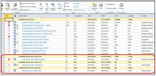 grouping projects by month in project server 2010 mpug