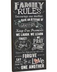 Chalkboard Love And Hope Anchors - amazing spring savings on family rules love one another chalk look