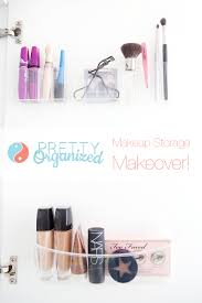 how to organize u0026 store makeup how to organize