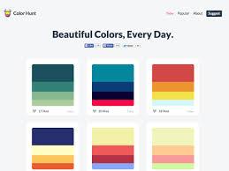 Great Color Palettes by What U0027s New For Designers September 2015 Webdesigner Depot