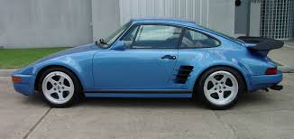 porsche 930 turbo flatnose minerva blue ruf 930 btr slant nose rare cars for sale blograre