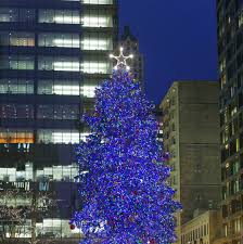 it s official chicago has chosen their annual tree
