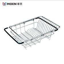 Kitchen Sink Basket Moen Moen Stainless Steel And Durable Adjustable Drain Basket
