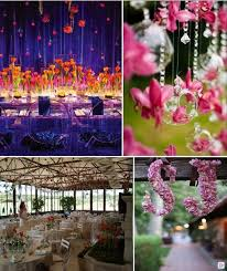 deco fleur mariage idees decoration salle mariage