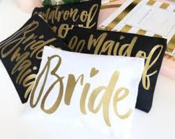 Bridal Makeup Bags Bridal Party Cosmetic Bags Bridal Makeup Bag Monogram