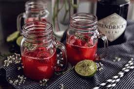 birthday drink birthday drink recipe raspberry thyme smash u203a thefashionfraction com