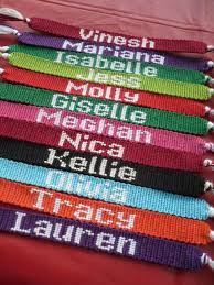 friendship bracelet with name images Love the thick letters for these friendship bracelets diy jpg